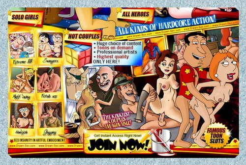 Adult Cartoon Club - sexual pleasure