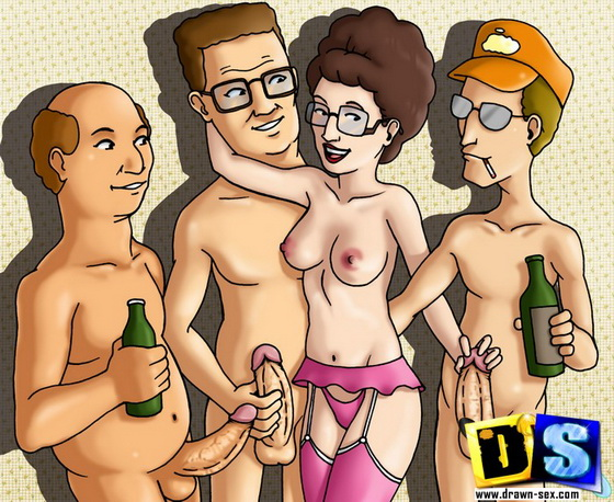 drawnsex Peggy Hill - mature slut