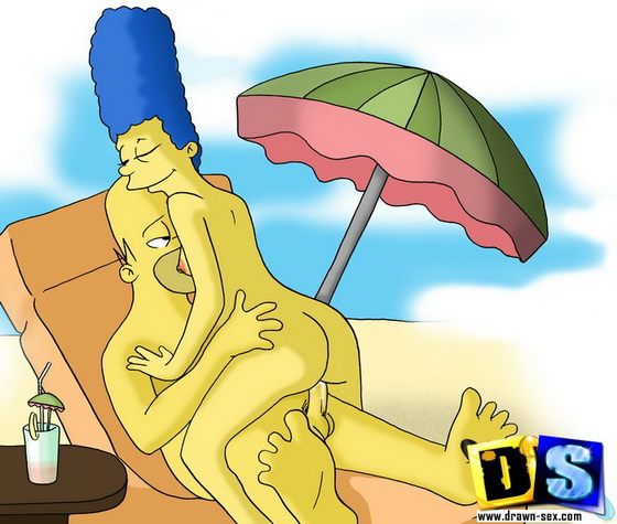 drawnsex The Simpsons - fans are crazy sex