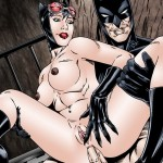 Catwoman sucks Batman`s hot pole from Superheroes porn  category