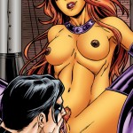 Starfire & Nightwing - the explosion of passion from TeenTitans Porn  category
