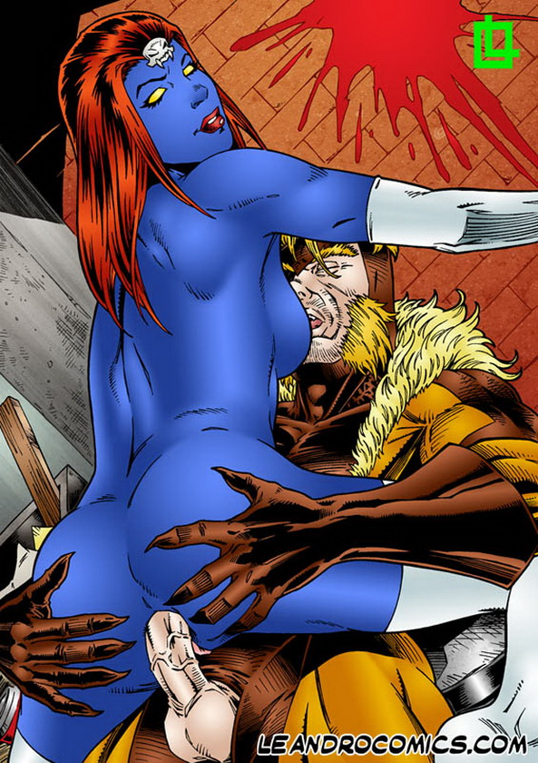 X-Men Porn - furious sex