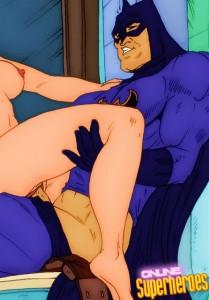 Batman Superhero sex cartoon Hottest sex