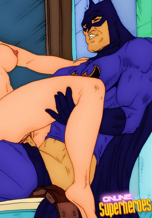 Batman Superhero sex cartoon Hottest sex