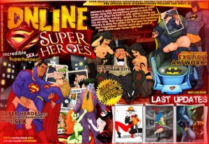 Online Super Heroes - best sex cartoons