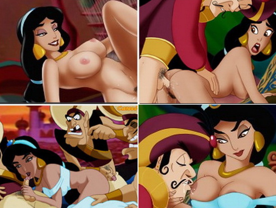 Jasmine and prince Achmed Hardcore Sex from Aladdin Porn  category