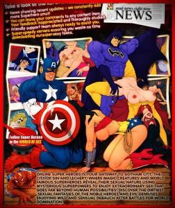 Online Super Heroes Hottest sex cartoon