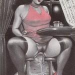 Perverted BDSM sex vintage porn pics from Vintage Cartoon  category