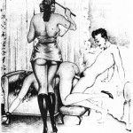 BDSM vintage porn gallery from Vintage Cartoon  category