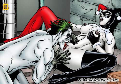 Harley and Joker the hottest sex