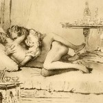 Vintage pictures with erotic content from Vintage Cartoon  category