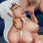 Vanessa loves to suck from Disney Porn  category