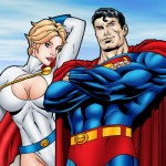 Superman and Supergirl hottest cartoon sex from Superheroes porn  category