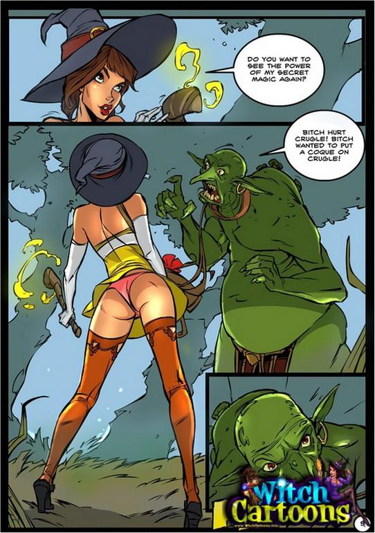 witch cartoons