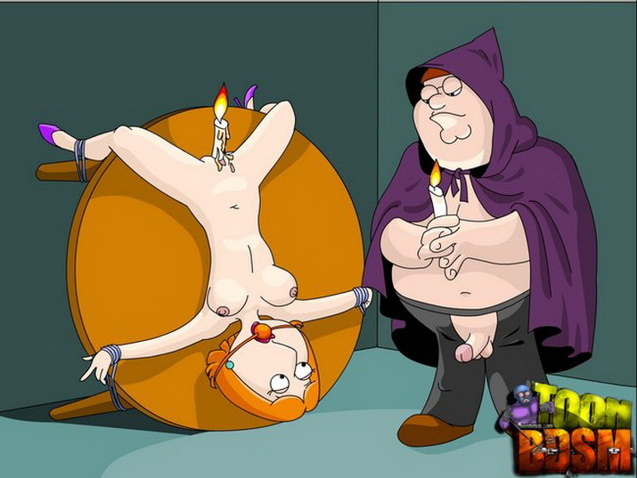 Thanks Meg griffin tied up naked are absolutely