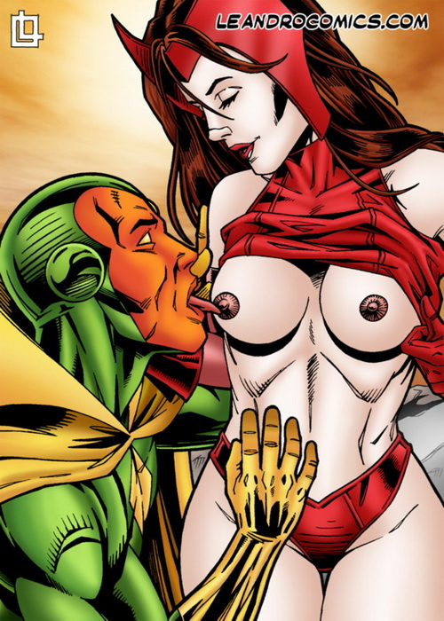 Scarlet Witch and The Vision - hot sex scene