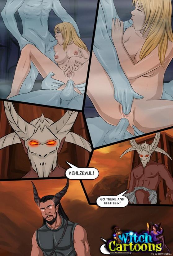 Witch porn Cartoons