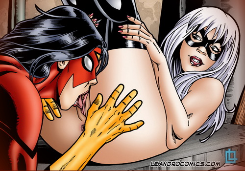 Leandro Comics - sex comics with superheroes