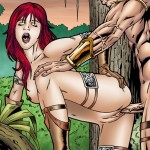 Red Sonja gets her pussy pumped by Conan.s rod from Drawn Sex Gallery  category