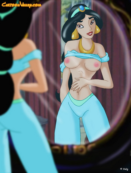 Jasmine porn cartoon