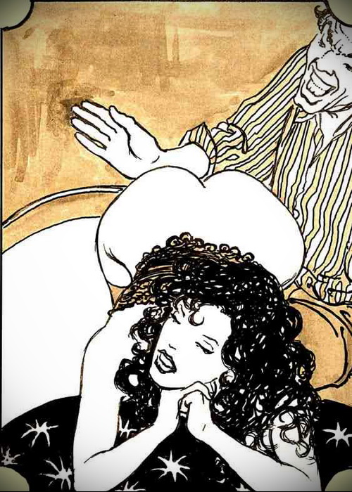 vintage erotic cartoon