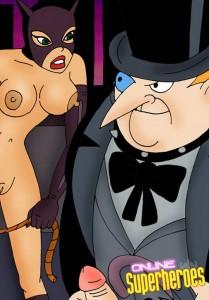 Catwoman sex comics