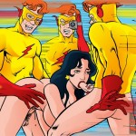 Superhero fucking with Teen Titans from Superheroes porn TeenTitans Porn  category