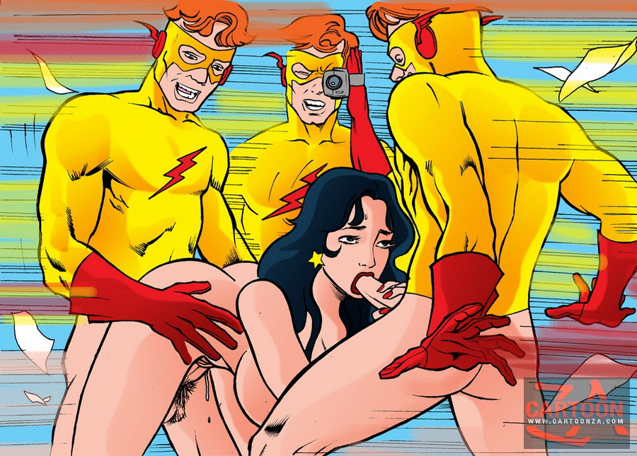 Knows Sexy super hero cartoon nudes
