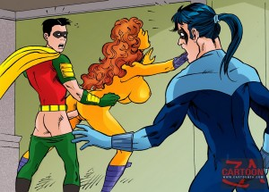 Superhero sex cartoon