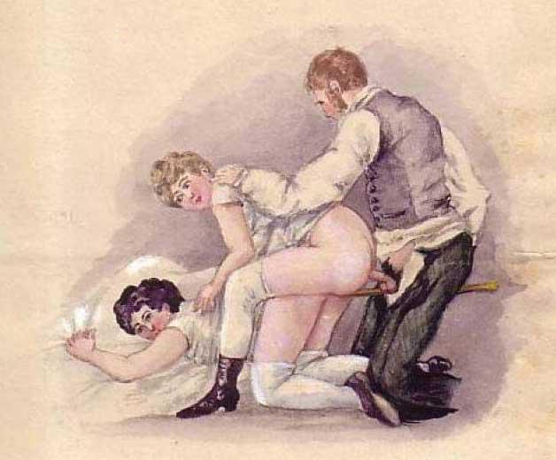 vintage porn drawing